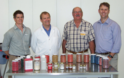 Touring Stein's seed treatment laboratories
