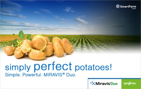 Miravis Duo for potatoes